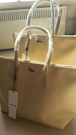 On Mondays Lacoste Vertical Horizontal Tote Bag