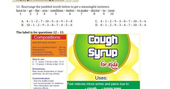 Contoh Soal Label Bahasa Inggris Dan Jawabannya Bagikan Contoh