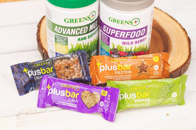 #GreensPlus superfood products