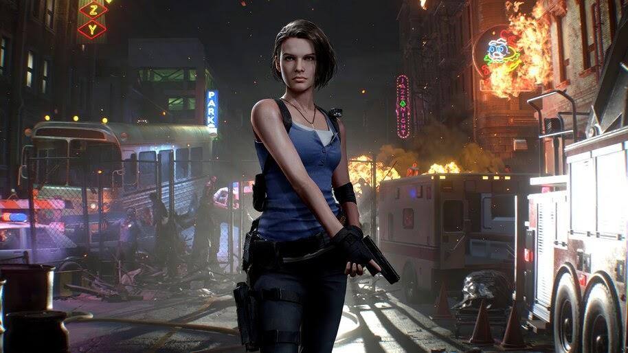 Jill Valentine Resident Evil 3 Remake 4k Wallpaper 3 1604
