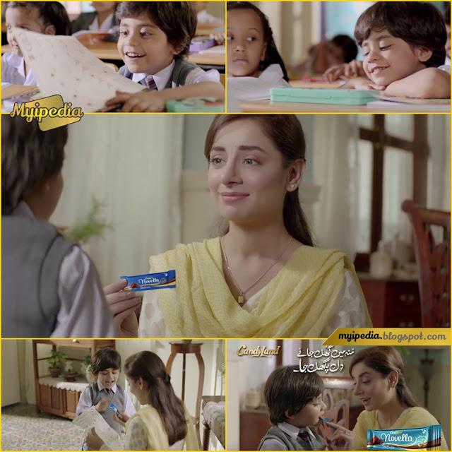 Sarwat Gillani in Novella TVC - Dil Pighal Jaye
