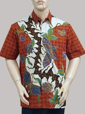 Foto baju batik biasanya dijadikan sebagai sampel