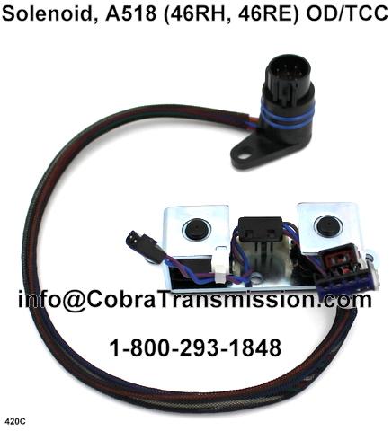Dodge 46re a518 repair Manual on