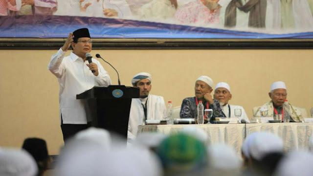 Akhirnya Terungkap, Kenapa Prabowo Tak Pilih Cawapres dari Ulama