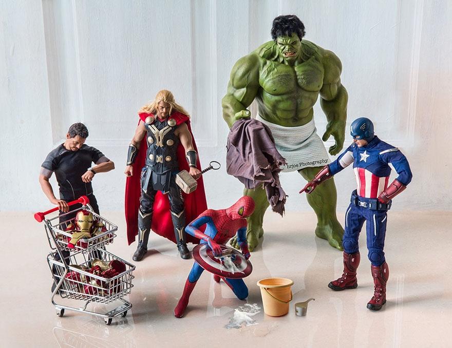 12-Hrjoe-Marvel-Superheroes-During-their-Downtime-www-designstack-co