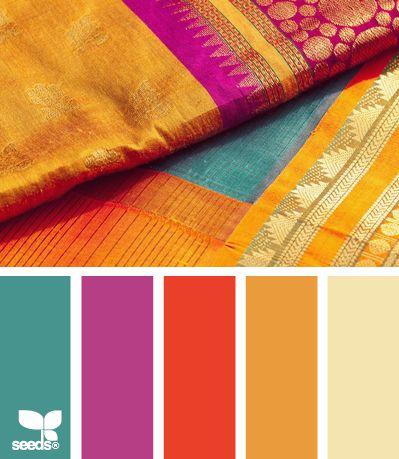 Paleta de colores contrastados