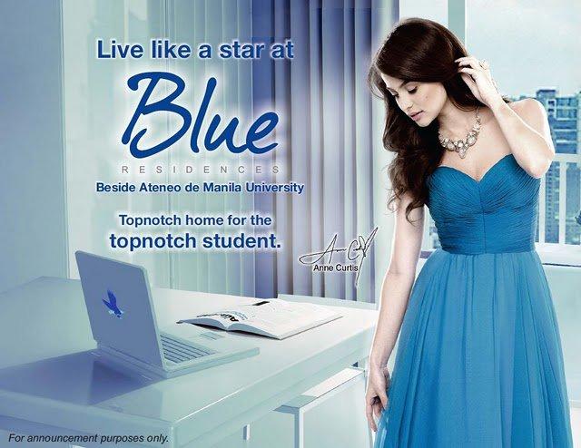 SM Blue as endorse by Ann Curtis
