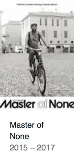 Best TV Shows Master of None