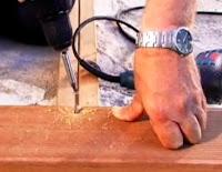 pasang decking kayu