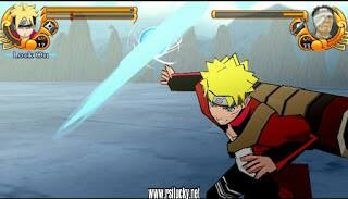 Mod Texture Boruto The Movie PSP