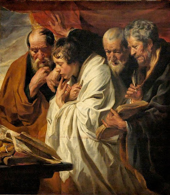 Matthew, Mark, Luke and John ~ Four Evangelists