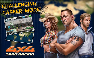 Drag Racing 4×4 (MOD, unlimited money/nitro) Apk Download