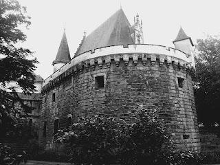 Hier soir animation caricature au Château des Ducs de Bretagne, à Nantes (donc pas en Bretagne ?!...) ©Guillaume Néel
