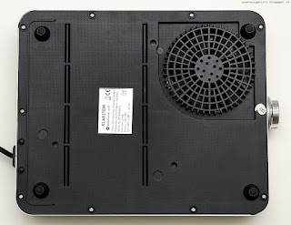 Klarstein VariCook SX 1800w, vista inferiore