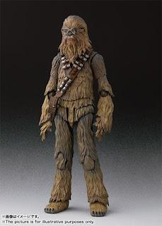 """Nueva información para el S.H. Figuarts Chewbacca de """"Solo: A Star Wars Story"""" - Tamashii Nations"""