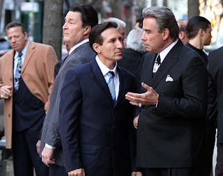 John Travolta was seen in Brooklyn filming for The Life and Death of John Gotti
