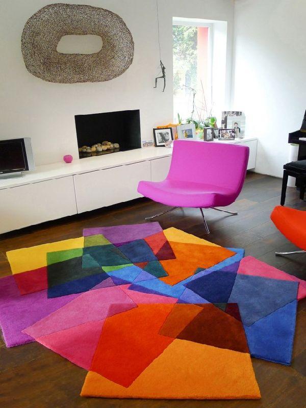 deco chambre interieur tapis contemporains pour votre salon. Black Bedroom Furniture Sets. Home Design Ideas