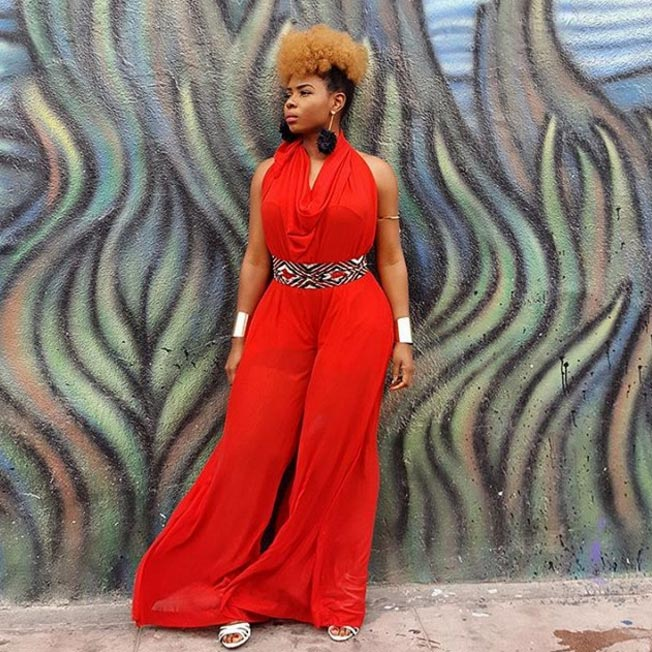 Singer Yemi Alade is fire in her Zizi Cardow-designed jumpsuit