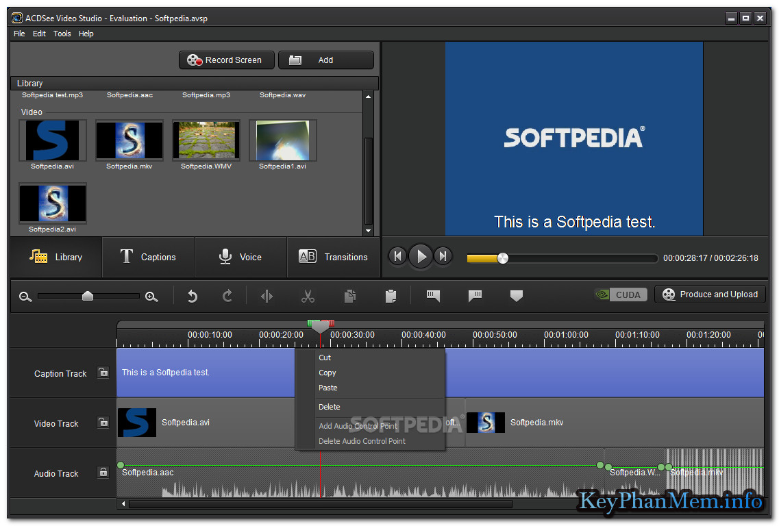 ACD Video Studio 3.0.0.202 Full Key, Phần mềm hỗ trợ biên tập Video chuyên nghiệp