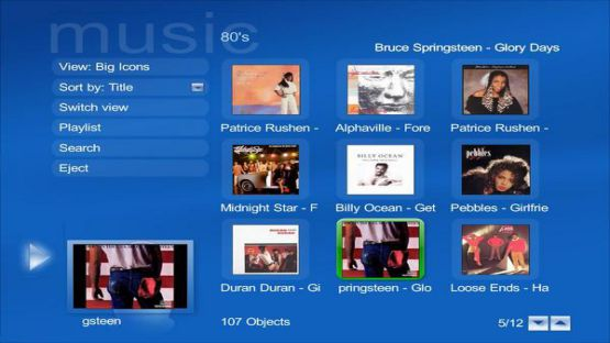 Mediaportal screenshot 2