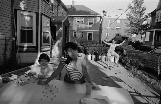 by Sage Sohier - Brighton, MA - 1982 | 80s America documental community life portrait photos