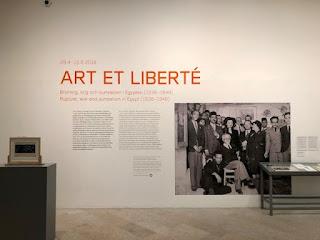 """Exhibition """"Art et Liberté"""" at Moderna"""