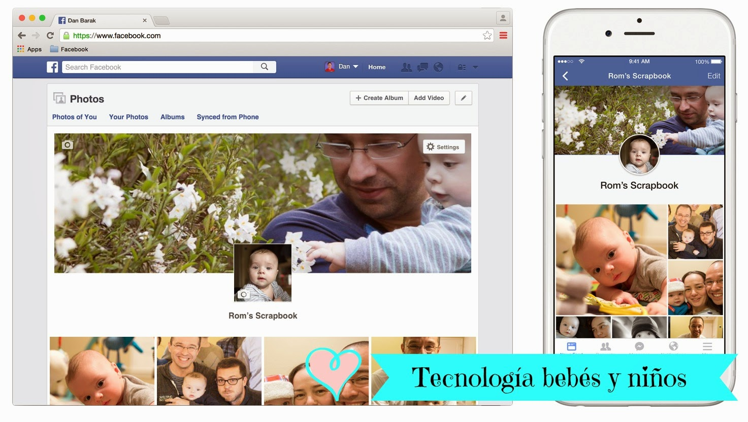 scrapbook Facebook