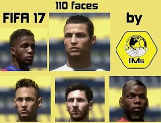 FIFA 17 Facepack from FIFA 19
