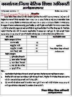 UP Urdu Teacher counseling for Ambedakar Nagar