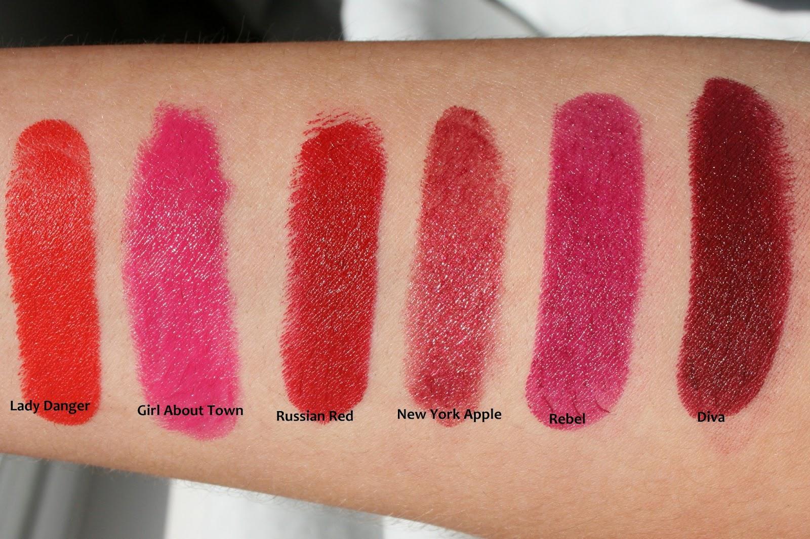Pretty little obsessions uk beauty blog my mac lipstick - Mac cosmetics lipstick diva ...