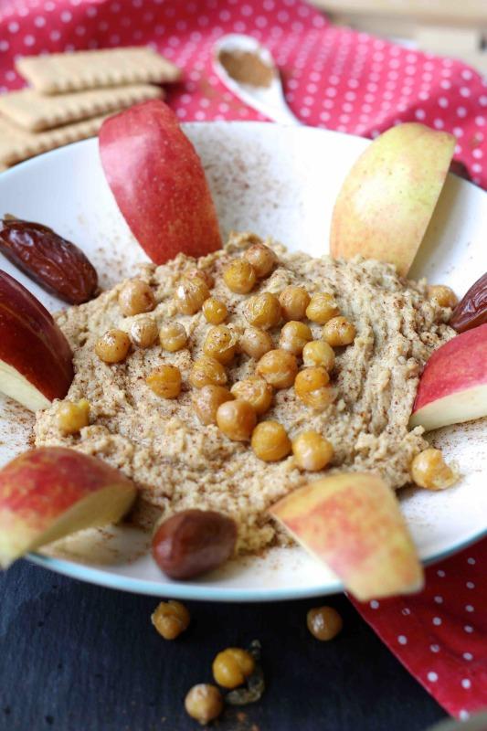 Süßer Hummus mit Zimt