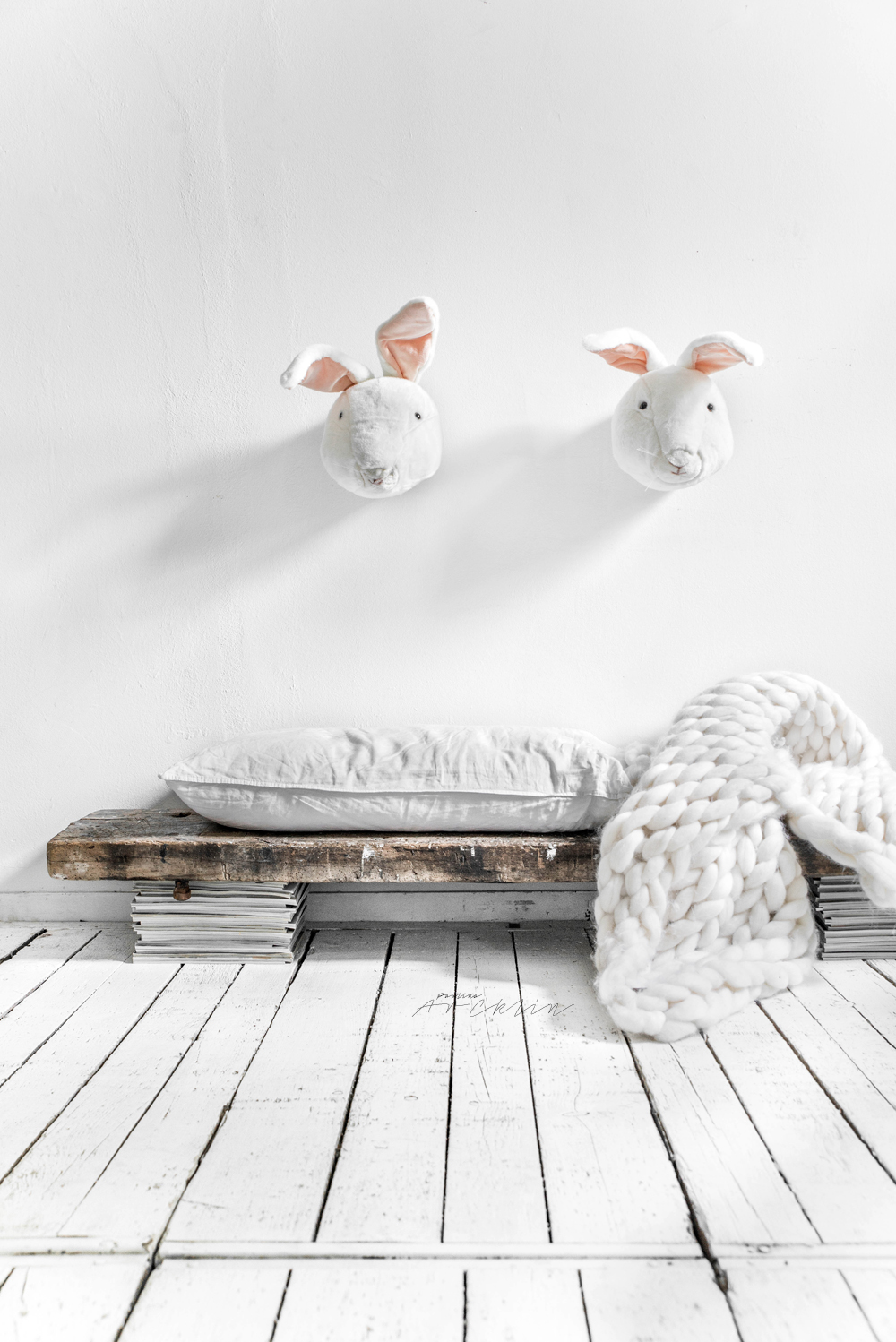 THE BUNNY BENCH