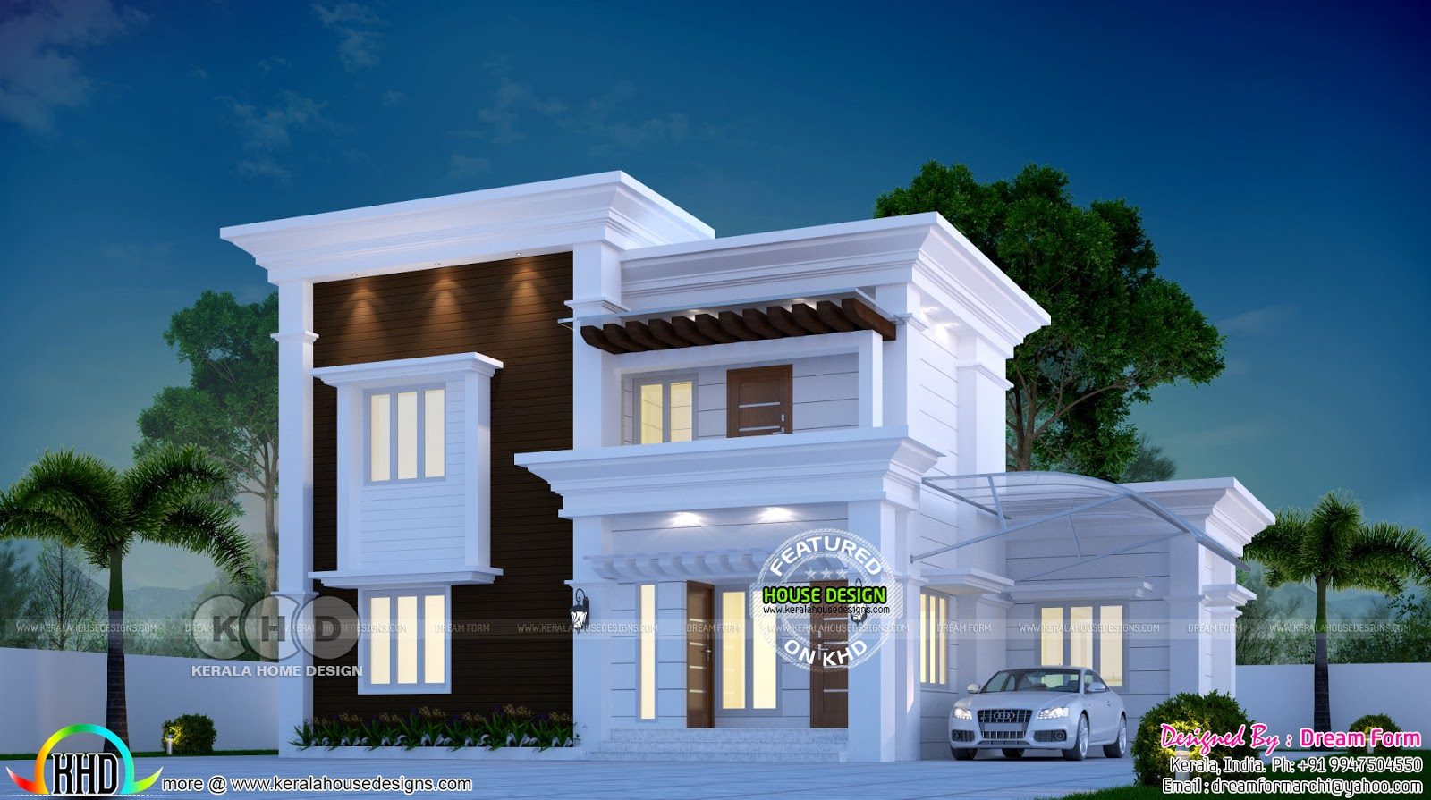 May 2018 Kerala Home Design And Floor Plans 8000 Houses