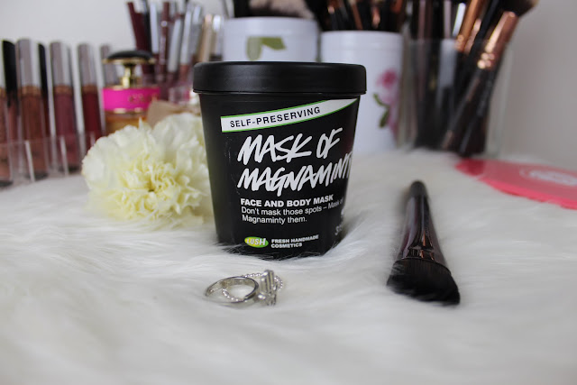 lush, winter, skincare, cleanser, face mask, moisturiser, natural skincare, spot treatment, mask of magnaminty