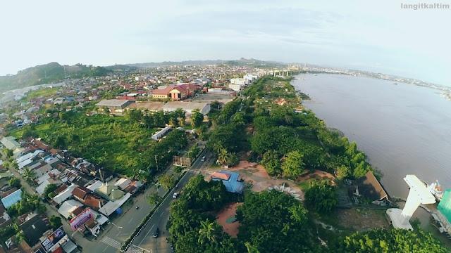 Foto Udara Jembatan Mahakam Kota Samarinda