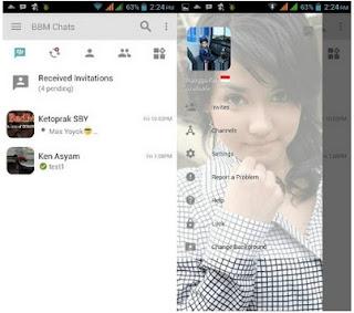 BBM Light Miyabi Change Background