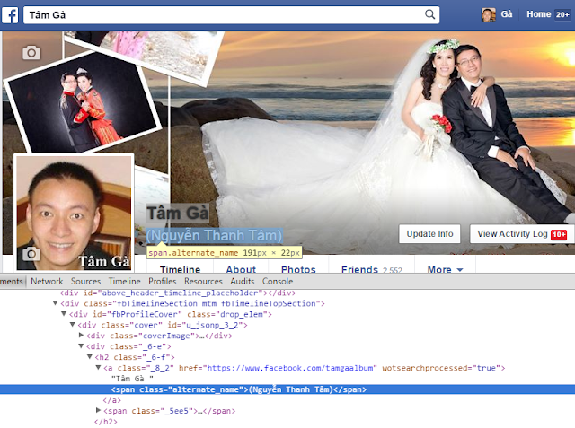 Thủ thuật Verified tài khoản Facebook cá nhân