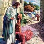 Jesus cura os cegos
