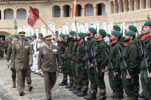 Desaparece la última Gran Unidad de Montaña del Ejército