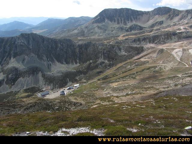 Ruta Pico Toneo y Peña Agujas: Descendiendo del Toneo a la estación por la cara Sur