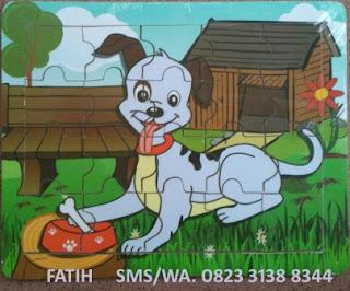 Mainan Puzzle Anak Anjing