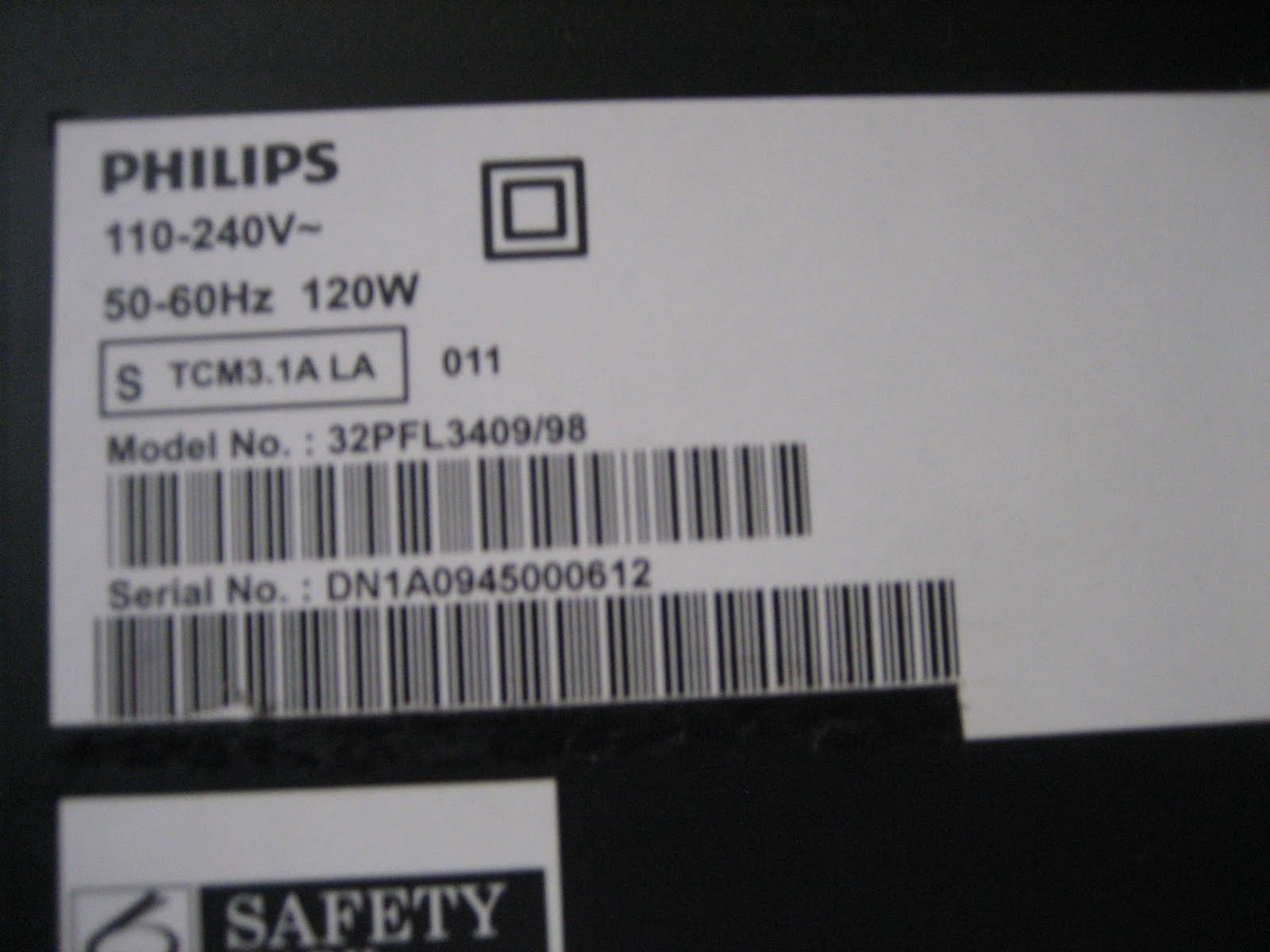 Electronics Etc                        : Philips LCD TV