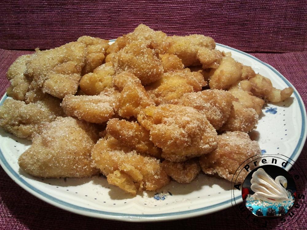 Beignets néo-zélandais de pommes cannelle orange