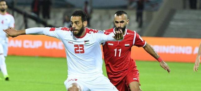 سوريا وفلسطين نهاية المباراة بالتعادل السلبي بين المنتخبين 0_0