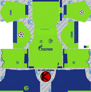 and the package includes complete with home kits Baru!!! Schalke 04 2018/19 Kit - Dream League Soccer Kits