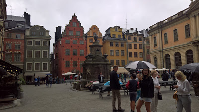 Stortorget square in Gamla Stan.