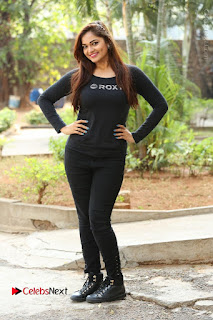 Actress Aswini Latest Stills in Black Denim Jeans  0194.JPG