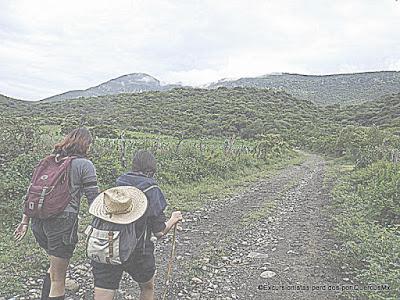 Scouts subiendo Cerro Viejo por Potrerillos, Excursionistas Perdidos