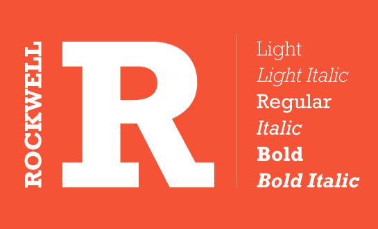 rockwell font free