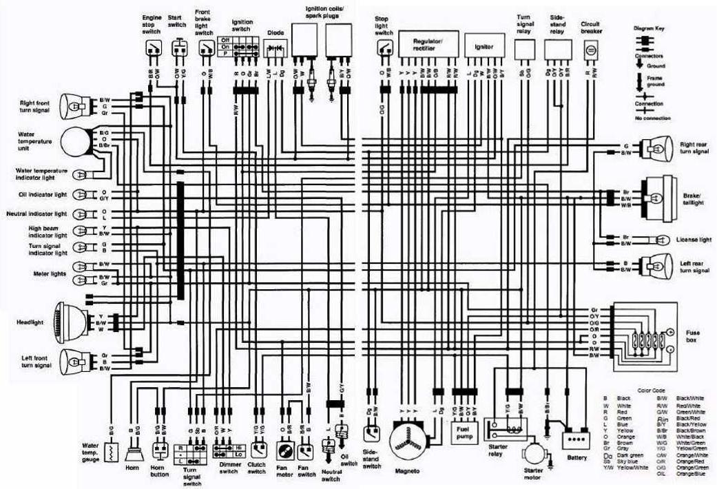 suzuki intruder 125 wiring diagram  wiring diagrams page